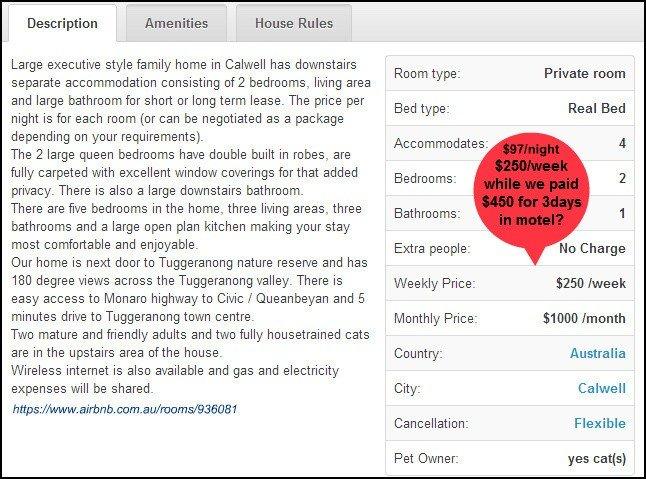airbnb tariffs