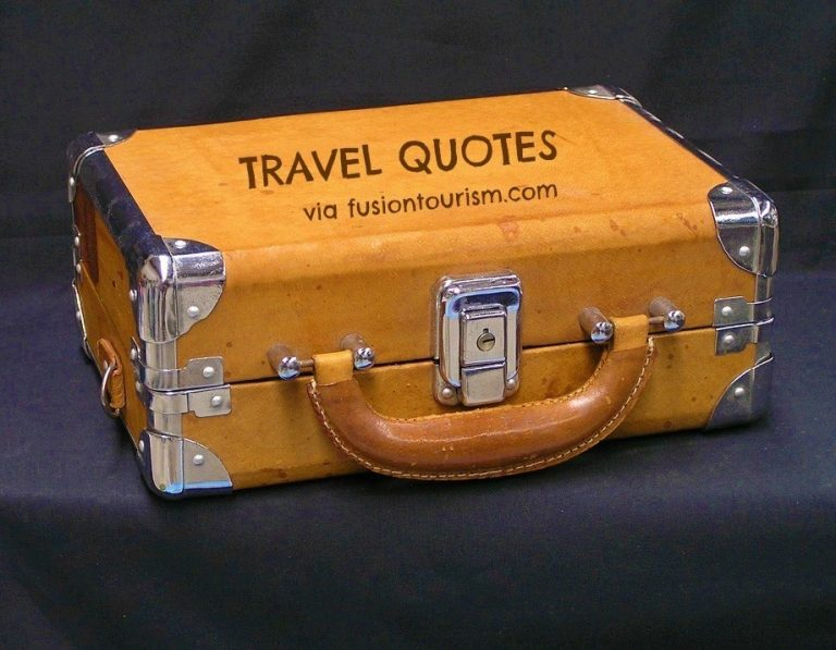 Quotes to Pack on Travel [Infographic]