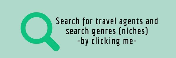 Search for travel agents and search genres (niches)